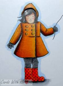 Girl  With Kite Close Up (watermarked)