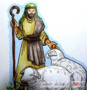 Shepherd Closeup (watermarked)